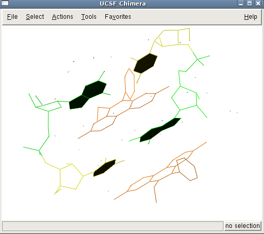 How Ethidium Bromide intercalates between RNA?