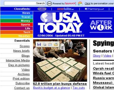 Genre Analysis: News Site
